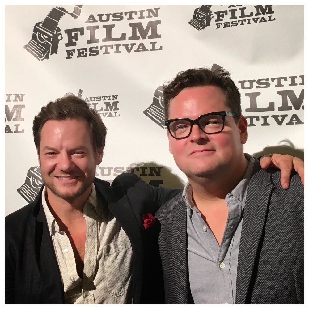 with Jon Singer at Austin Film Festival for  Imperfections