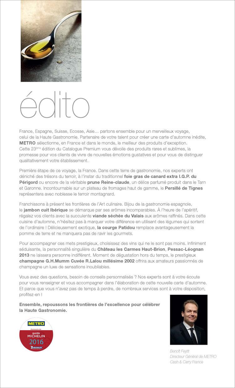 METRO Cash and Carry — Martine Malardier