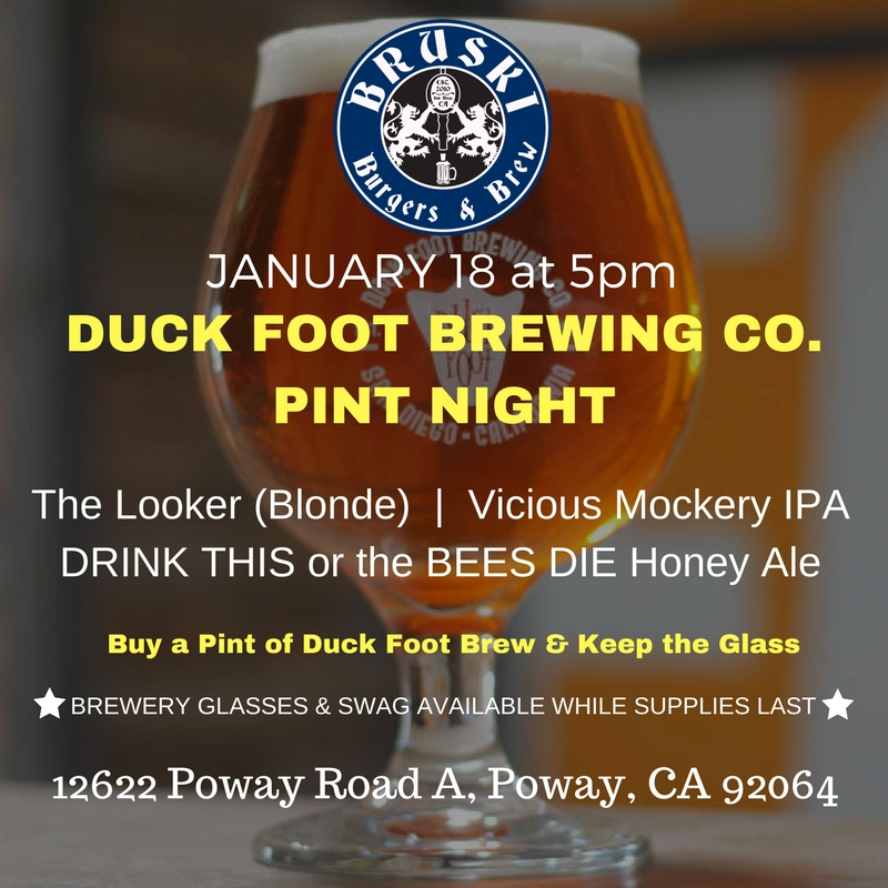 Bruski Burgers & Brew Duck Foot Beer.jpg
