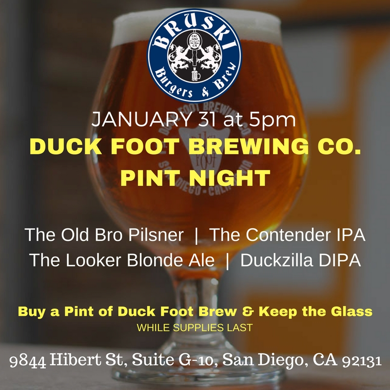 Bruski Pint Night - Duck Foot.jpg