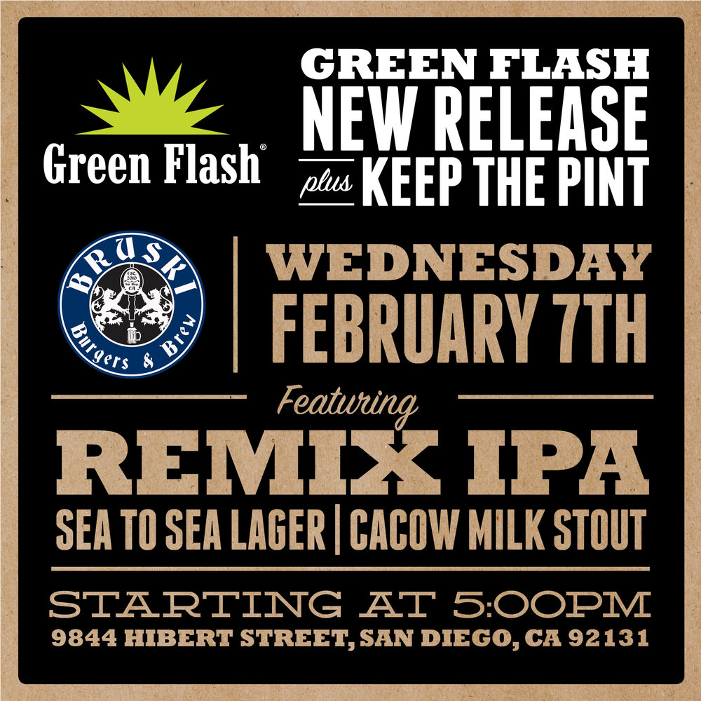 Bruski Burgers and Brew Pint Night Green Flash.JPG
