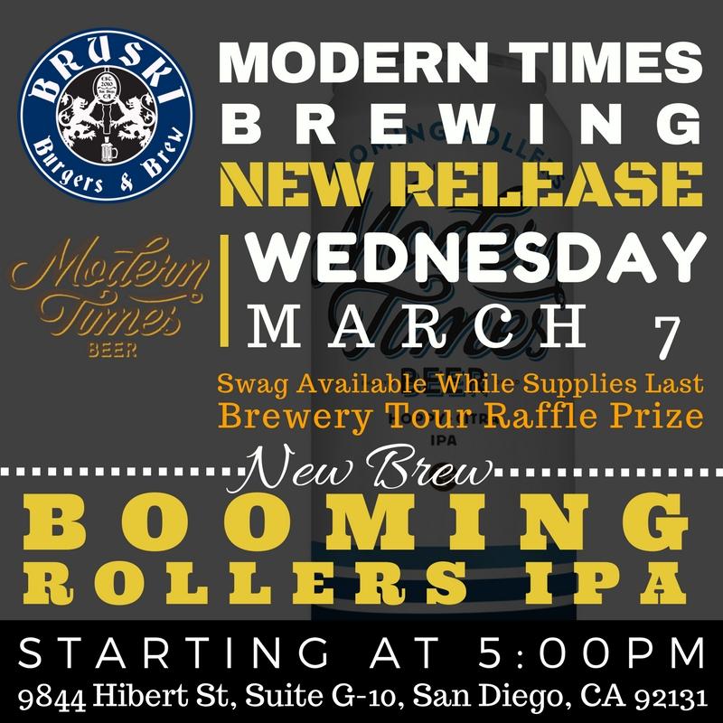 Bruski Burgers & Brew MODERN TIMES NEW BEER RELEASE.jpg