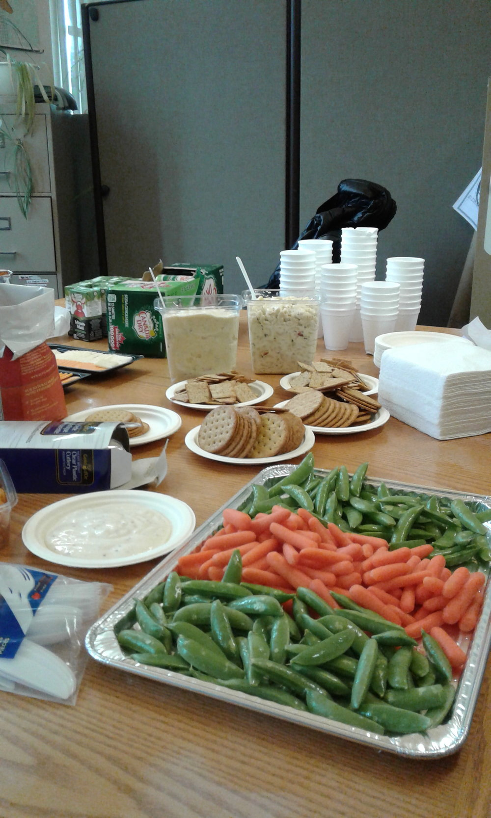 Snacking Feast for Welcoming Party