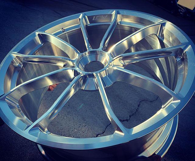 Rough draft :) Right out the machine . 991 Carrera front wheel / 20x9.5 | #Porsche #wheels #audi #machinist @dmgmori  @supremepower