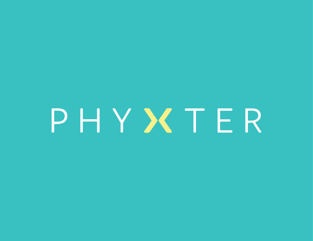 Phyxter logo-no tag-teal background-RGB.jpg