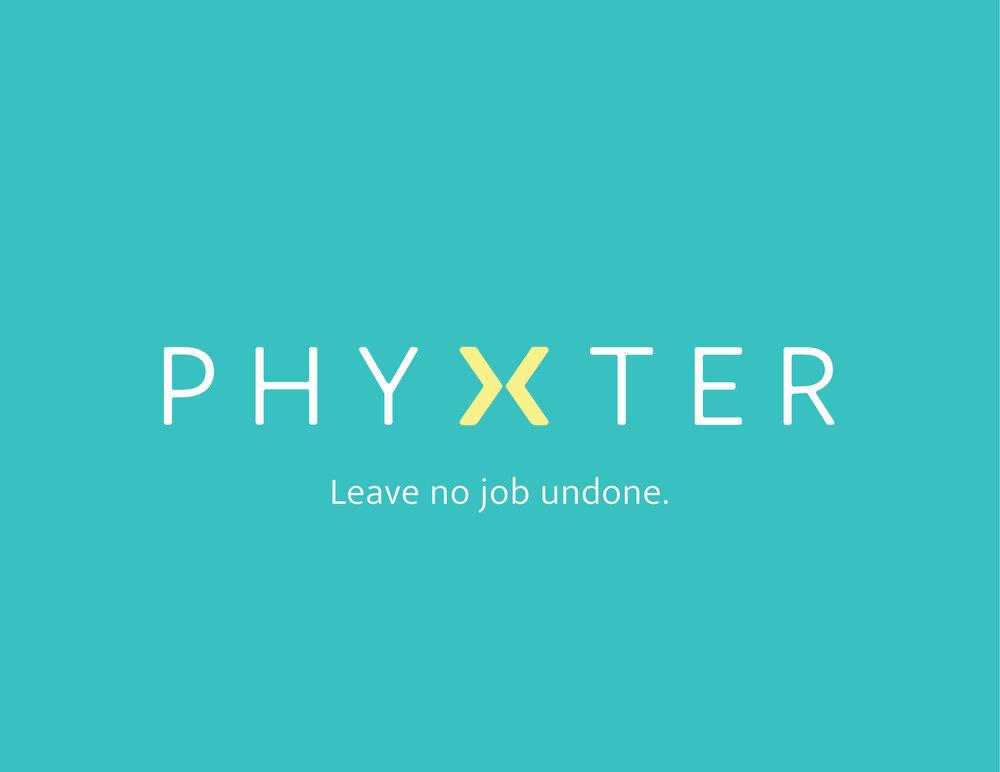 Phyxter logo-tagline-teal background-RGB.jpg