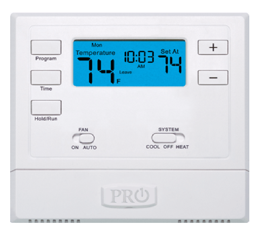 Pro1 IAQ - T605-2 Thermostat    Buy 2 Get 1 Free!   Single stage, 1 heat 1 cool, 5/1/1 Programmable, battery or Hardwired.