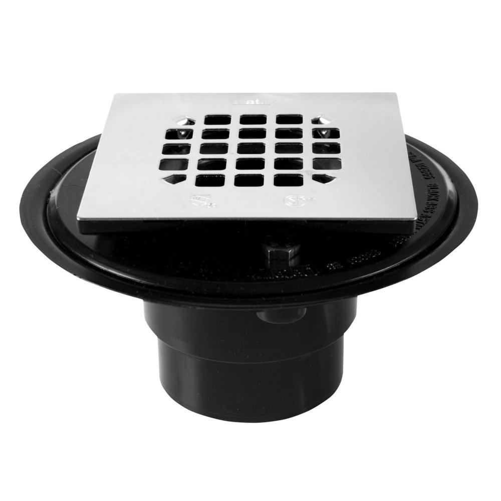 Oatey Square Shower Drain    $10.00   Oatey® 130 Series Shower Drain For Tile Shower Bases are designed for use with tile or marble showers where a shower pan liner is used.