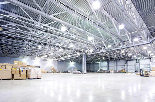 Commercial and industrial lighting solutions for any application.