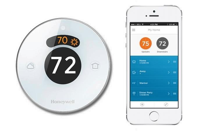 Lyric Round Wi-Fi    Price - $285    Model – TH8732WFH5002    Description  - Honeywell lyrical thermostat provides comfort when you're home and savings when you're away. Control from anywhere with your SMART phone or tablet. Manufactured by Honeywell.