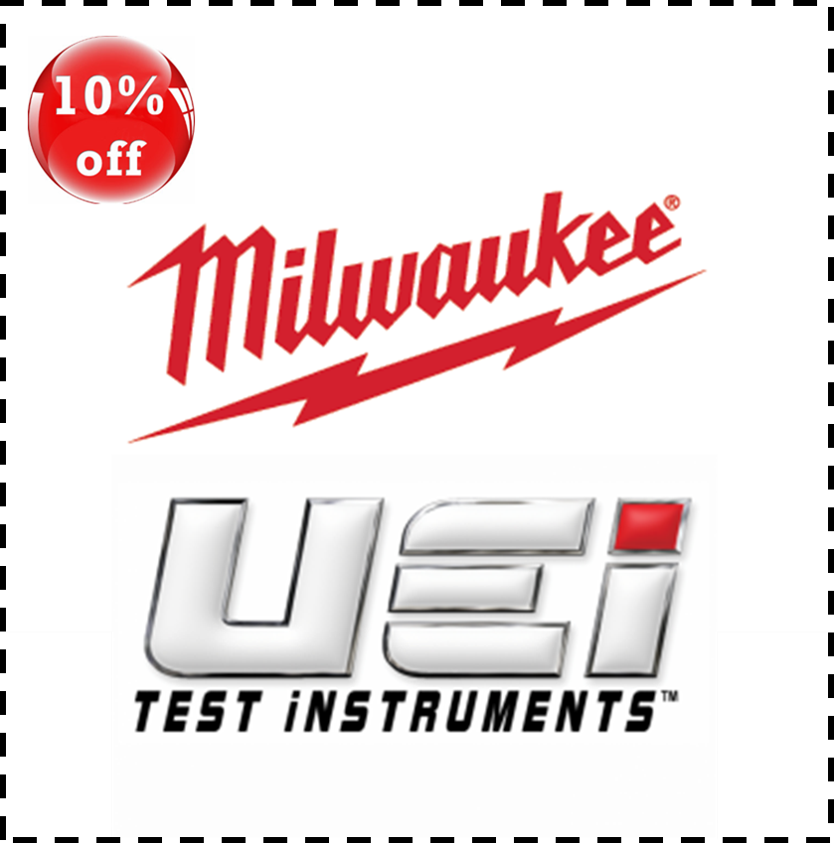 10% off all in stock UEi and Milwaukee products