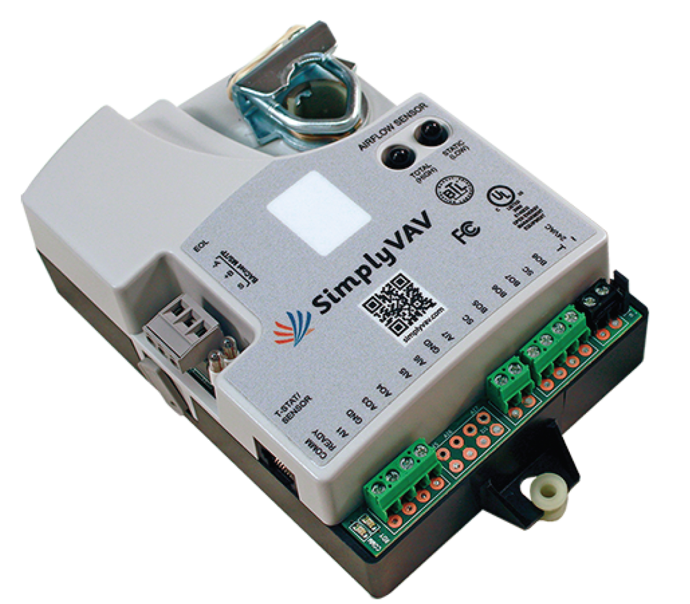 Simply Vav   BACNet Ready.  Network ready.  Stand-Alone Ready.  No Software Required.