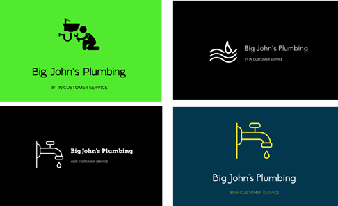 You can create amazing logos like these using LOGOJOY!