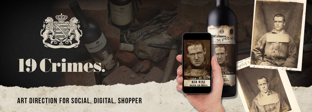19 Crimes Wine: Augmented Reality (click to view)