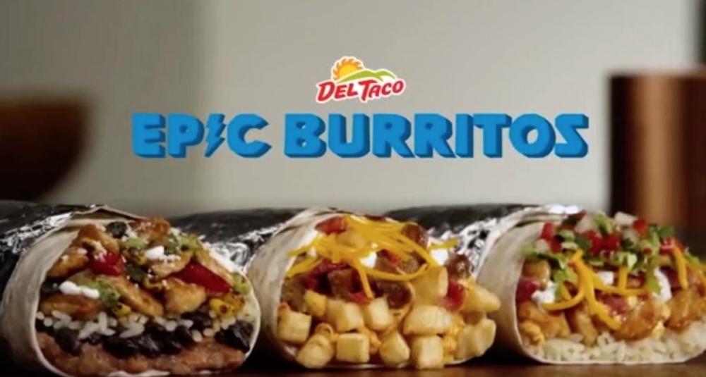 Del Taco Epic Burritos :30(click to view)