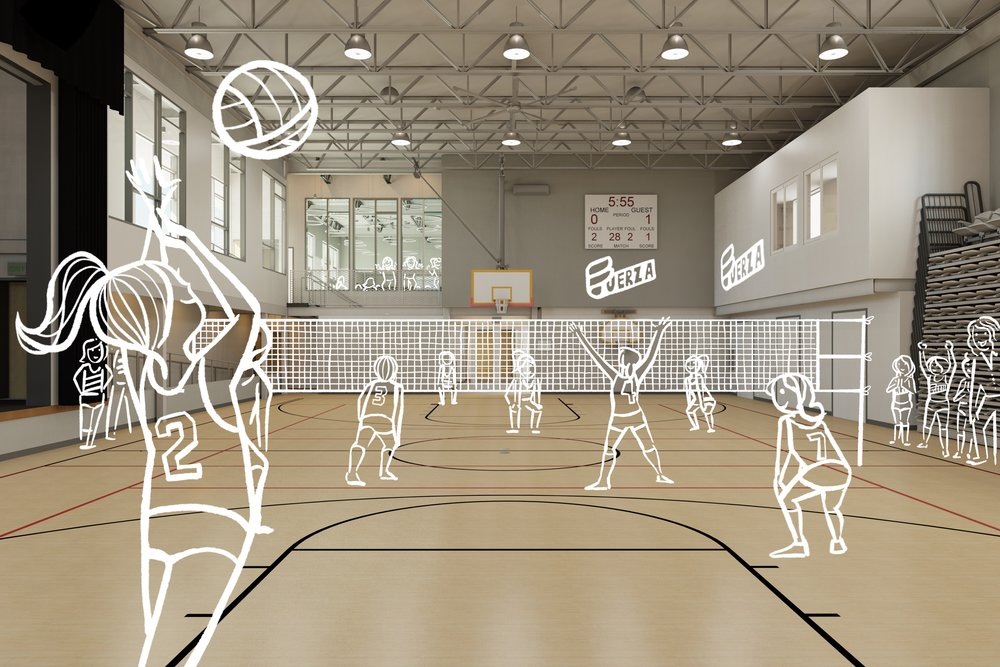 Two Schools Gymnasium with Students.jpg