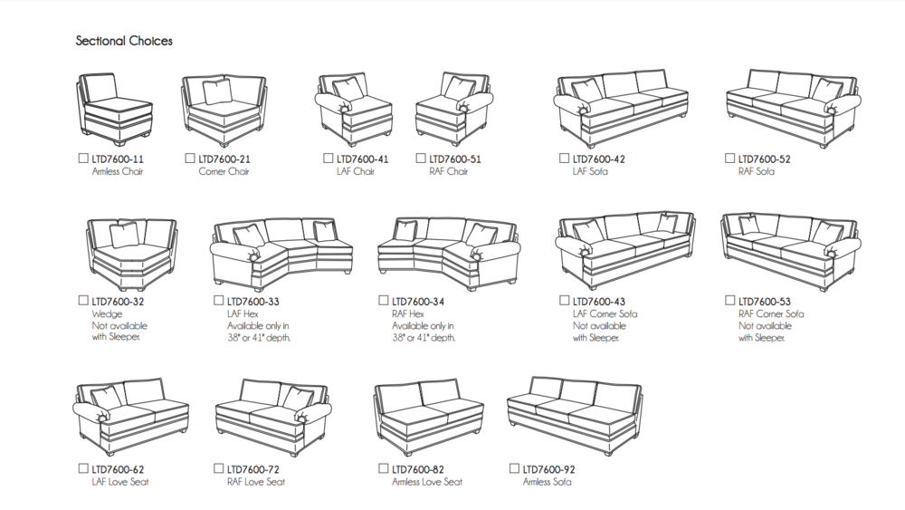 Cornerstone Custom Sectional