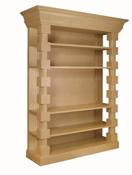 Euclid Block Bookcase