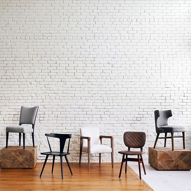 Lately we've seen a surge in popularity of Scandinavian designed dining chairs- with their simple wood lines, small scale frames and almost architectural lines- taking what was once a very formal space and making it feel more casual and inviting. So, we decided to round up some of our favorite hygge-approved chairs ☕️ #linkinprofile Also, be sure to check out our new website where you can sign up for an account, see our best sellers, browse vendor lists and even shop by room!
