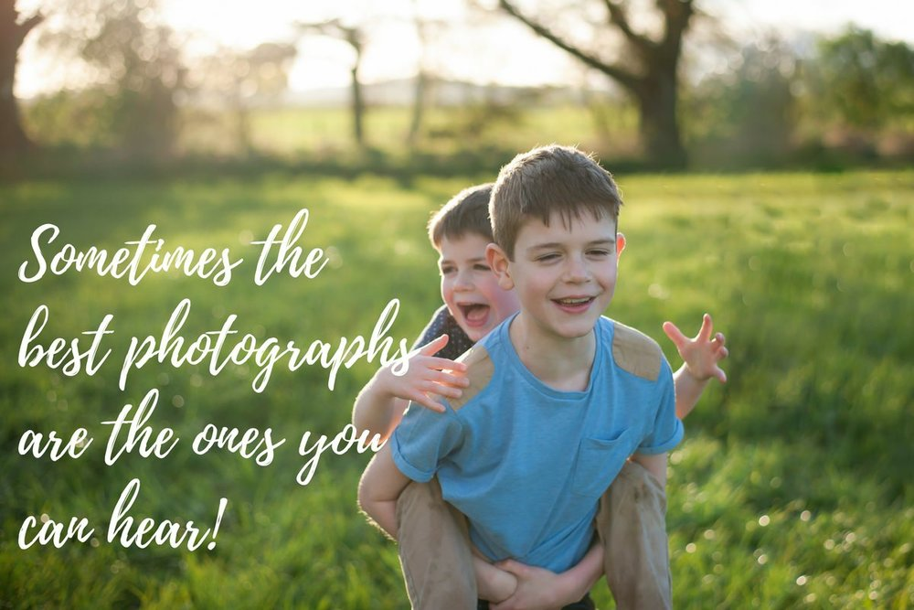 Brothers piggy back, giggles. Dundee family photographer.