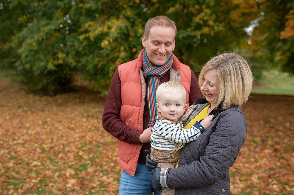 Family of three. Dundee family photography.