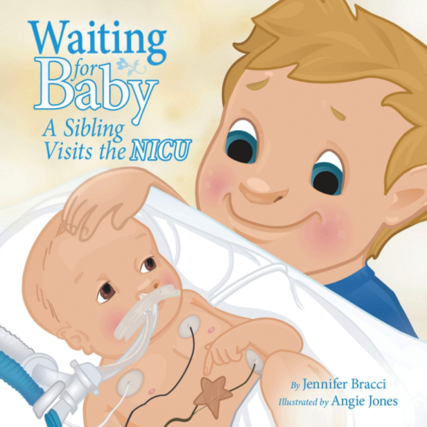 a sibling visit to the NICU childrens book