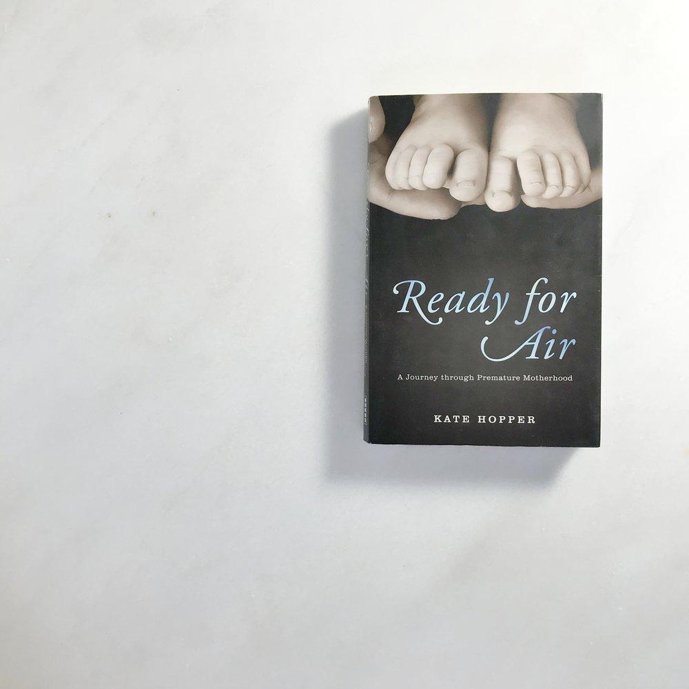 book cover for ready for air preemie memoir Ready for Air