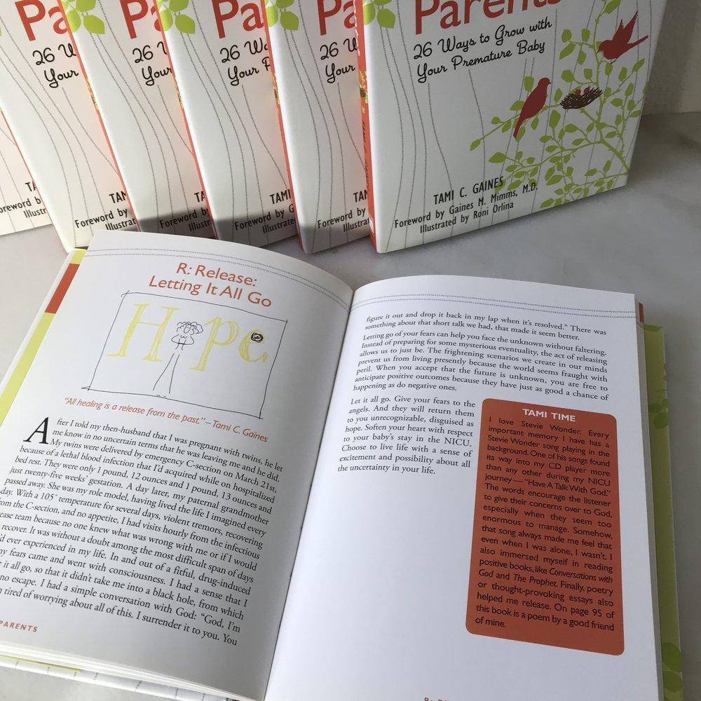 premie parents book