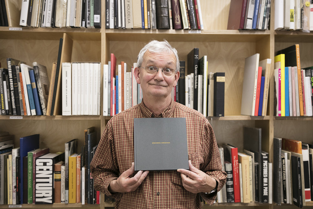 Martin Parr With Photobook Familiar Place of artist Ovidiu Gordan.jpg