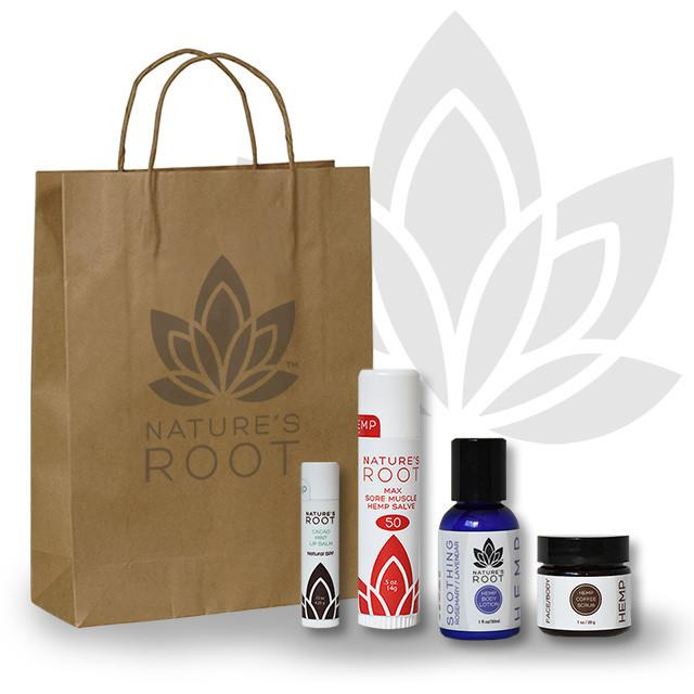 Natures Root body goodness gift bag-$34 - Based out of Longmont colorado they have everything for your friend that's tense and needs a nice massage or this gift bag may just do the trick!