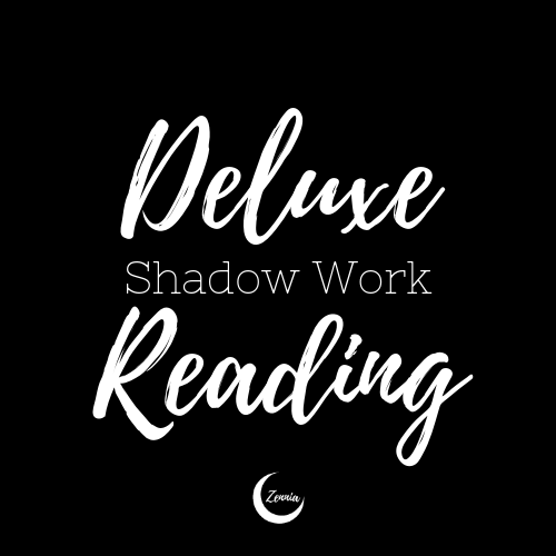 Psst! Want to further your shadow work journey? Try my Deluxe Shadow Work Reading! We'll cover  all  the topics—Self Ego, Shadow, projection. Find out more (or get your own)  here !