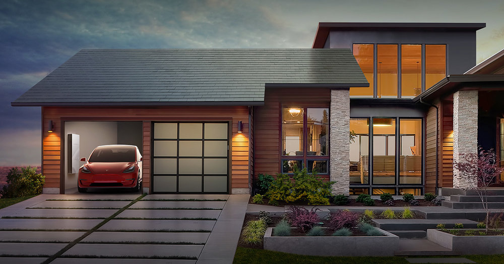 Comparing a Traditional Roof to a Tesla Solar Roof