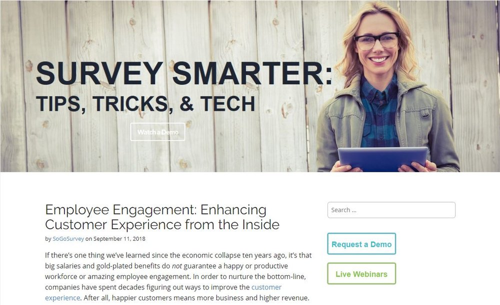 Enhancing Customer Experience from the Inside