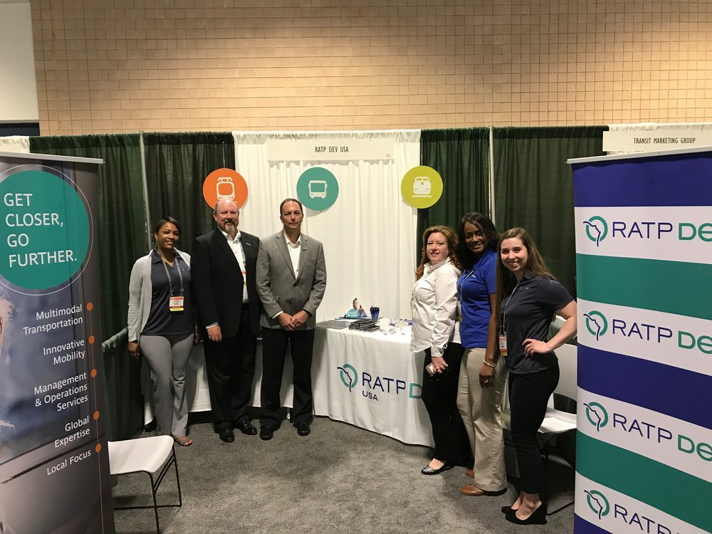 Copy of RATP Dev USA had a strong presence at APTA's 2018 Bus & Paratransit Conference