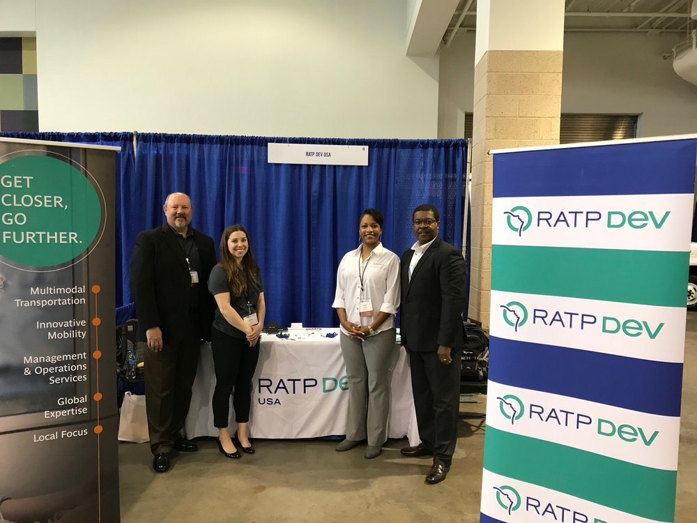 Copy of RATP Dev USA at the North Carolina Public Transportation 2018 Annual Conference & Roadeo