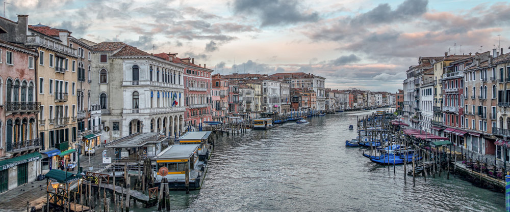 Pastels In Venice