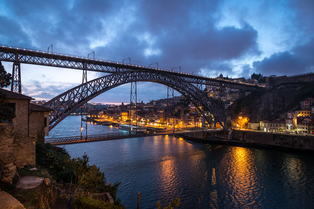 Ponte Luis I Bridge over the Douro River