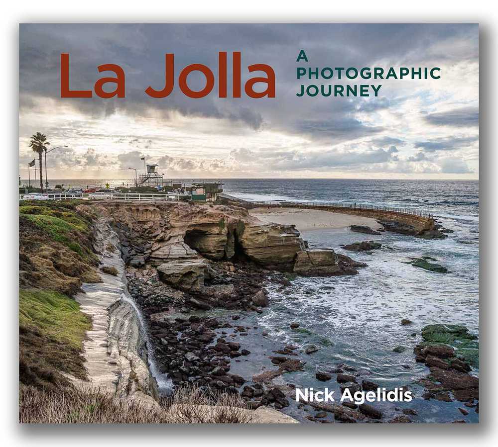 My La Jolla photography book was published by Sunbelt Publications and is available IN BOOKSTORES INCLUDING Warwick's in La Jolla AND online at Amazon -