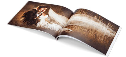 "Soft Cover  With Standard ""Perfect Bound"" Pages"