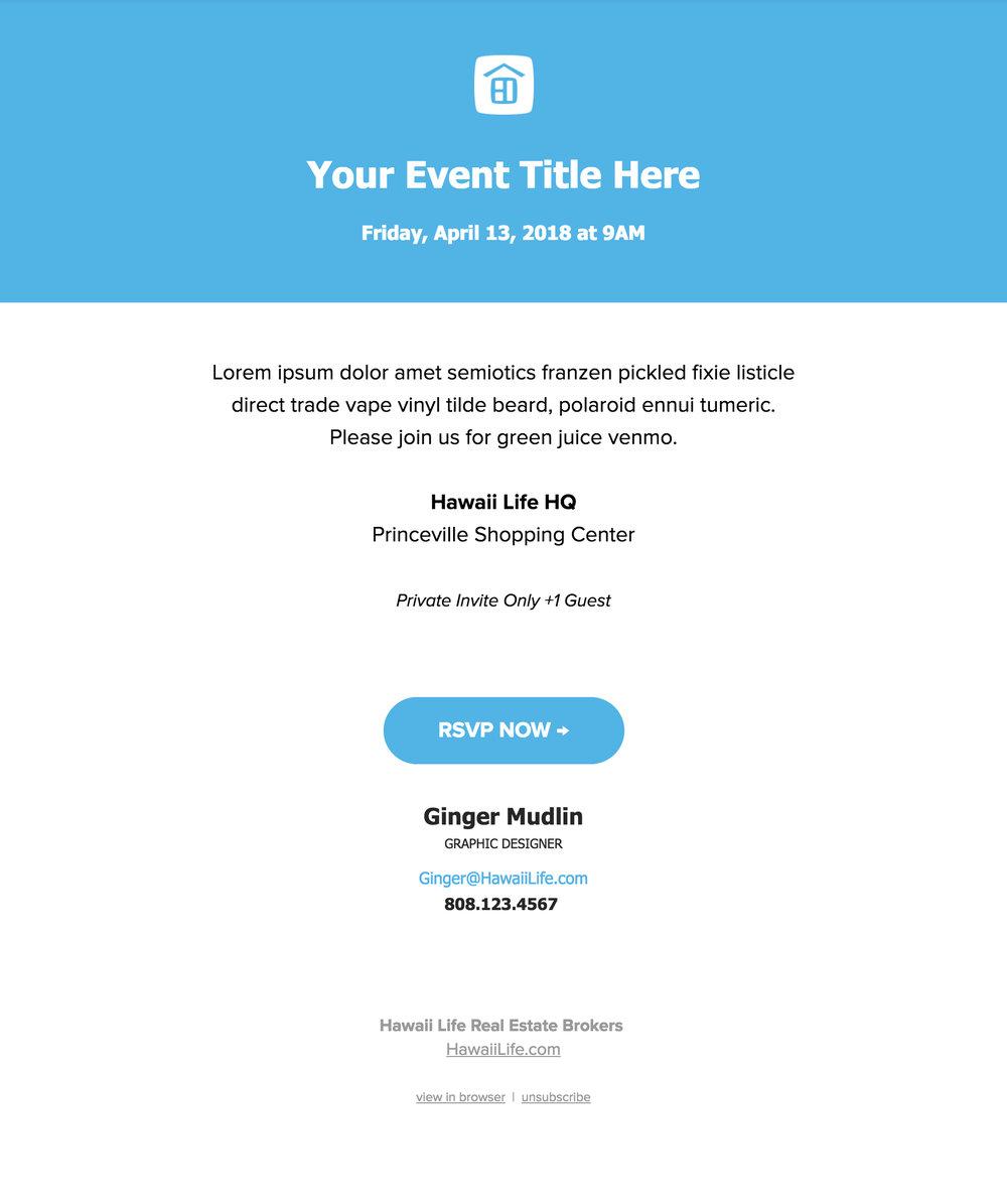 Event Invite Email Template Smarketing