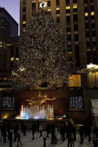 Christmas at Rockafeller Center