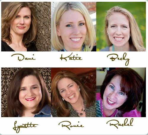 Dani Pettrey, Katie Ganshert, Becky Wade, Lynette Eason, Ronie Kendig, Rachel Hauck