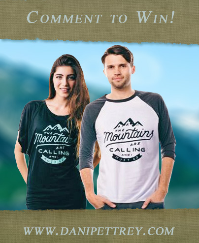 Win a Limited Edition Mountains Are Calling Shirt from Sevenly!