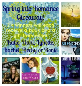 Enter the Spring Into Romance Giveaway!!