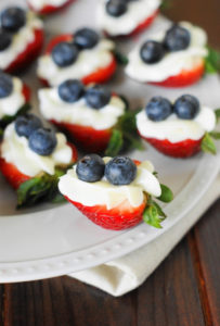 MondayCRed-White-and-Blue-Strawberry-Cheesecake-Bites 1