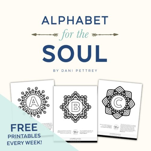 Alphabet for the Soul Free Coloring pages