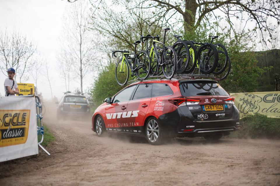 Brother UK support the team in 2019. Photo: Vitus Pro Cycling p/b Brother UK
