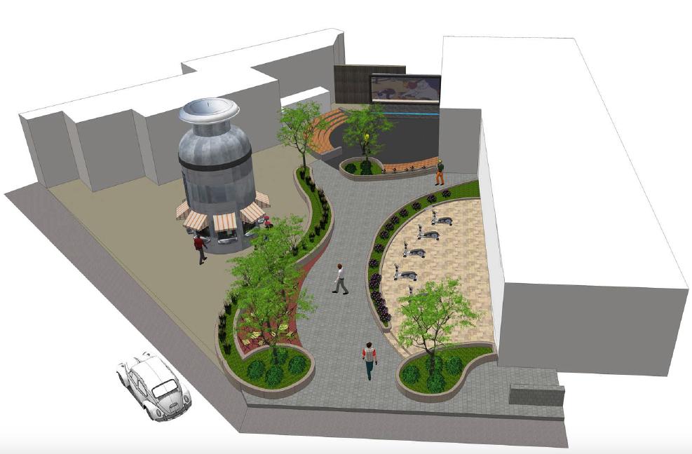 Plan West LoHi Plaza