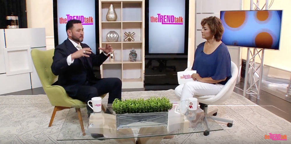 THE TREND TALK SHOW - with guest Hector Padilla
