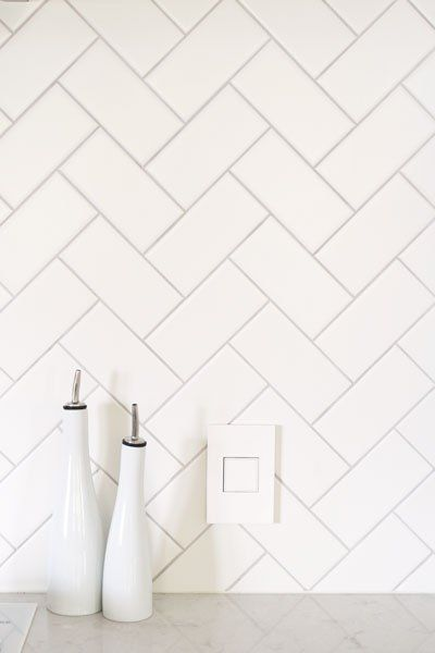 everyone loves a good herringbone. a simple, super on-trend and unique touch to elevate even the cheapest tile to extraordinary.
